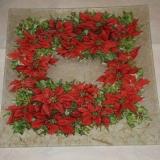 Bandejas con Flores de Navidad